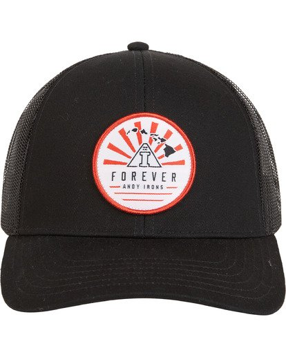 3 AI - Trucker Hat for Men Black S5CT09BIP0 Billabong