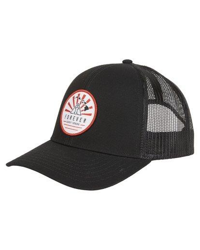 4 AI - Trucker Hat for Men Black S5CT09BIP0 Billabong
