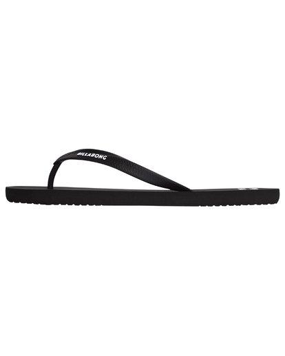 2 Tides Solid - Flip-Flops for Men Black S5FF01BIP0 Billabong