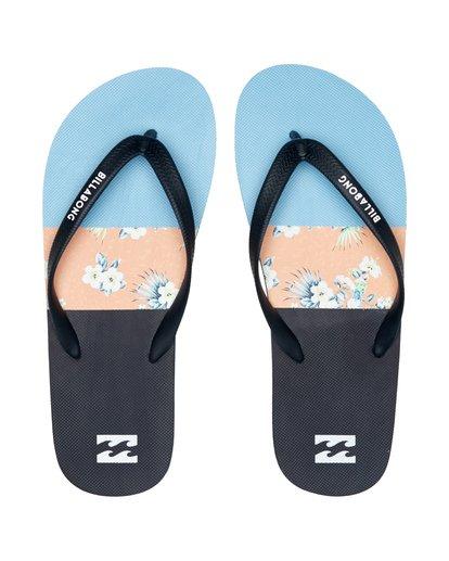 7 Tides Tribong - Flip-Flops für Herren Blau S5FF02BIP0 Billabong