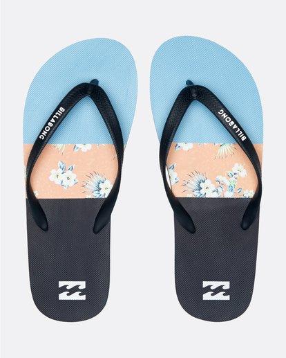 0 Tides Tribong - Chanclas para Hombre Azul S5FF02BIP0 Billabong