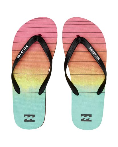 7 Tides 73 Stripe - Flip-Flops for Men Blue S5FF03BIP0 Billabong