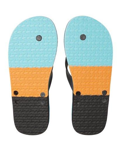 12 All Day - Sandalen für Herren Blau S5FF07BIP0 Billabong