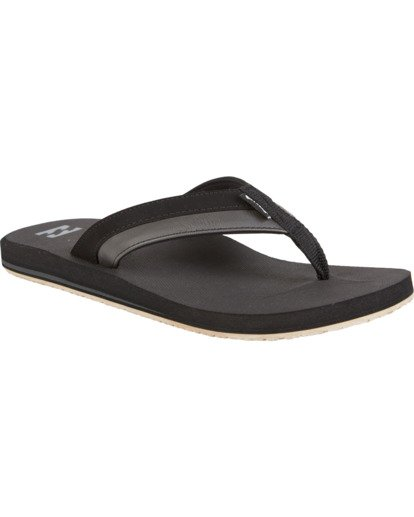 0 All Day Impact - Sandals for Men Black S5FF10BIP0 Billabong