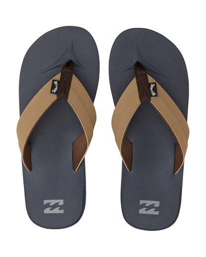 1 All Day Impact - Sandals for Men Blue S5FF10BIP0 Billabong
