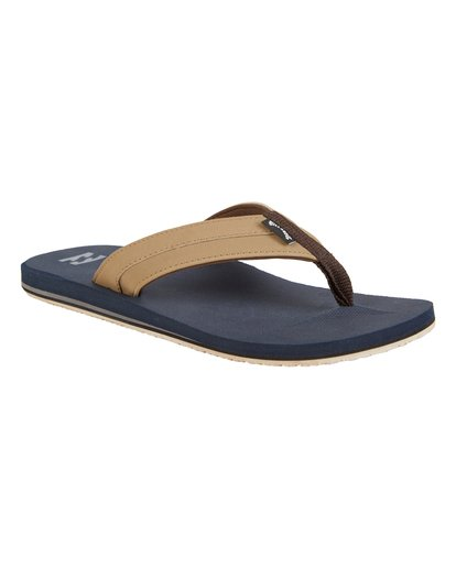 3 All Day Impact - Sandals for Men Blue S5FF10BIP0 Billabong