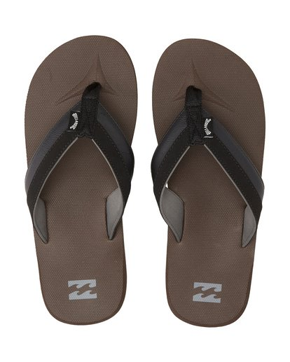 1 All Day Impact - Sandals for Men Brown S5FF10BIP0 Billabong