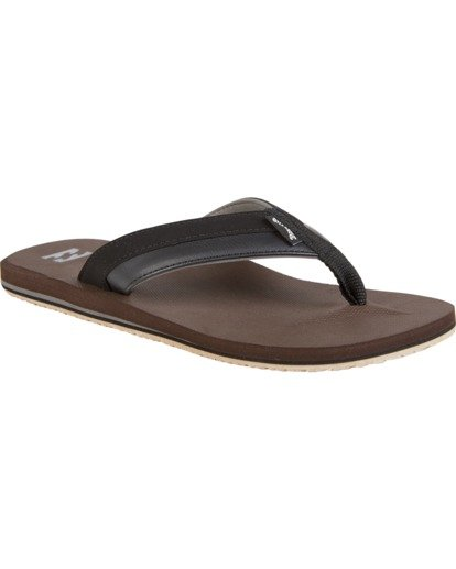 0 All Day Impact - Sandals for Men Brown S5FF10BIP0 Billabong