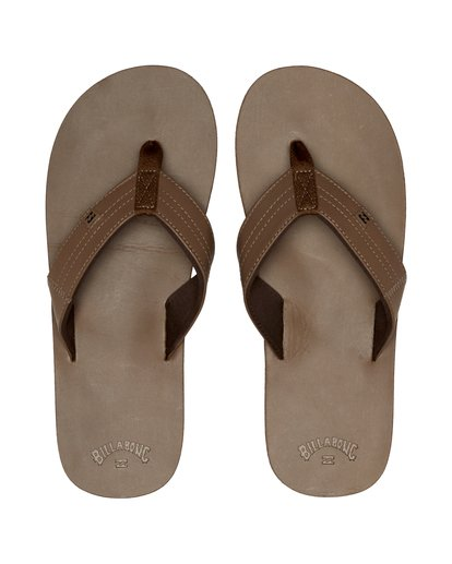 7 Seaway Leather - Flip-Flops for Men Brown S5FF19BIP0 Billabong