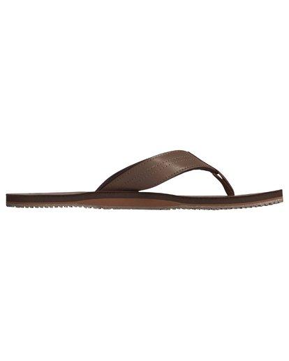 5 Seaway Leather - Flip-Flops for Men Brown S5FF19BIP0 Billabong