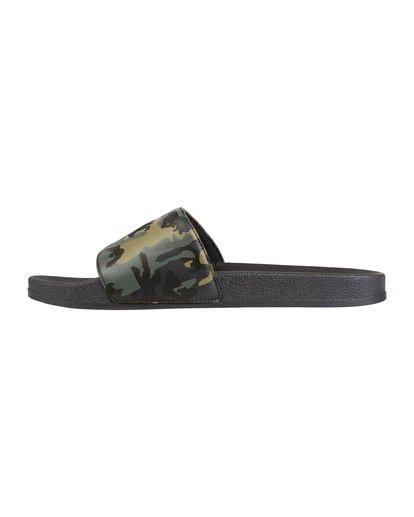 1 Poolslide Corp - Sandalen aus Kunstleder für Herren Gemustert S5FF22BIP0 Billabong