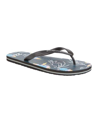 6 Tides Sundays - Gummi-Sandalen für Herren Blau S5FF25BIP0 Billabong