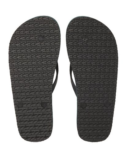 7 Tides Sundays - Rubber Sandals for Men Blue S5FF25BIP0 Billabong