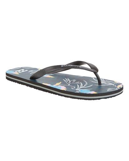3 Tides Sundays - Gummi-Sandalen für Herren Blau S5FF25BIP0 Billabong
