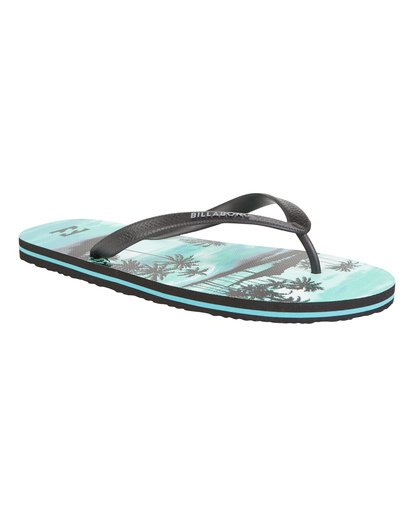 3 Tides Sundays - Rubber Sandals for Men Blue S5FF25BIP0 Billabong