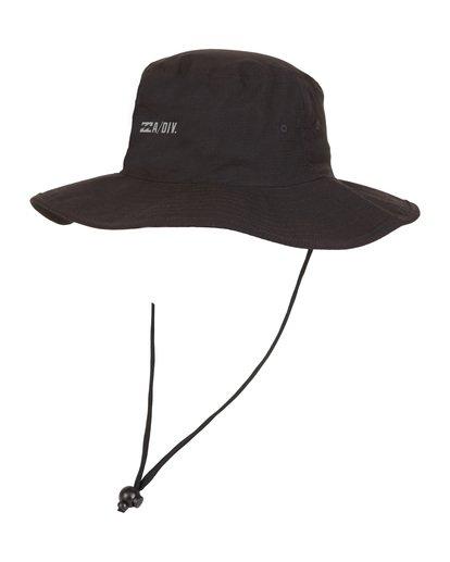 9 Adiv Sun - Safari Cap für Herren Schwarz S5HT03BIP0 Billabong