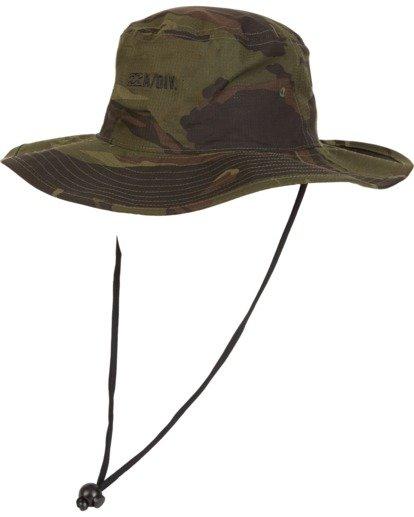 3 Adiv Sun - Gorro de estilo safari para Hombre Camo S5HT03BIP0 Billabong