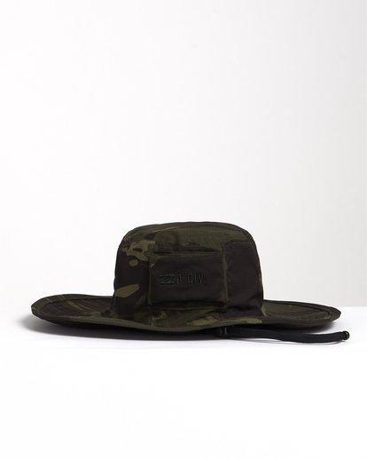 0 Adiv Sun - Gorro de estilo safari para Hombre Camo S5HT03BIP0 Billabong
