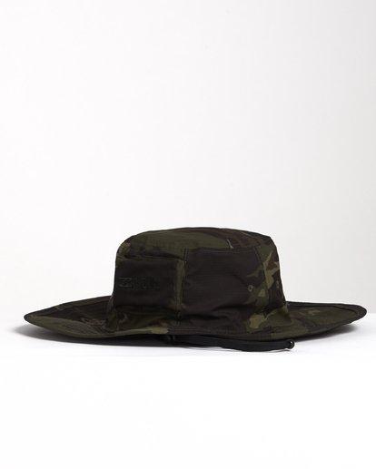 2 Adiv Sun - Gorro de estilo safari para Hombre Camo S5HT03BIP0 Billabong