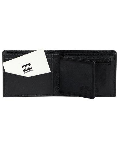 7 Arch Id Leather - Brieftasche aus Leder für Herren Schwarz S5LW01BIP0 Billabong