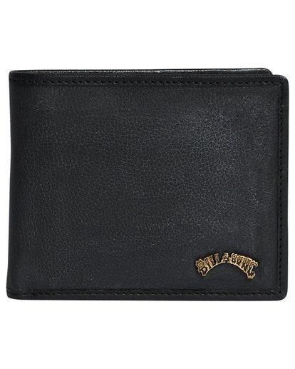 4 Arch Id Leather - Brieftasche aus Leder für Herren Schwarz S5LW01BIP0 Billabong