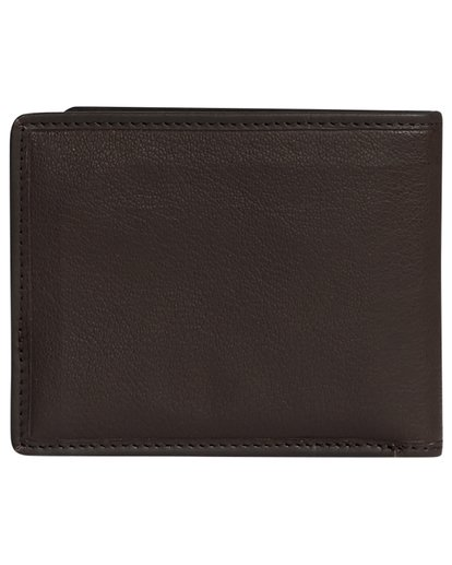 5 Arch Id Leather - Leather Wallet for Men Brown S5LW01BIP0 Billabong