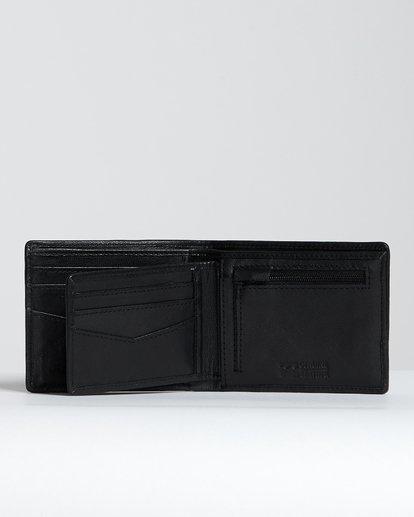 2 Arch Id Leather - Brieftasche aus Leder für Herren Schwarz S5LW01BIP0 Billabong