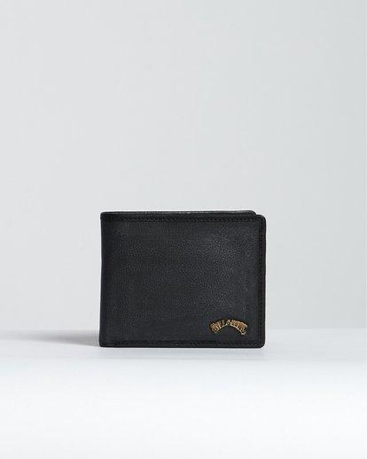 0 Arch Id Leather - Brieftasche aus Leder für Herren Schwarz S5LW01BIP0 Billabong