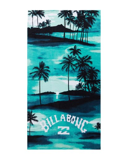 1 Waves - Printed Beach Towel for Men Blue S5TO01BIP0 Billabong