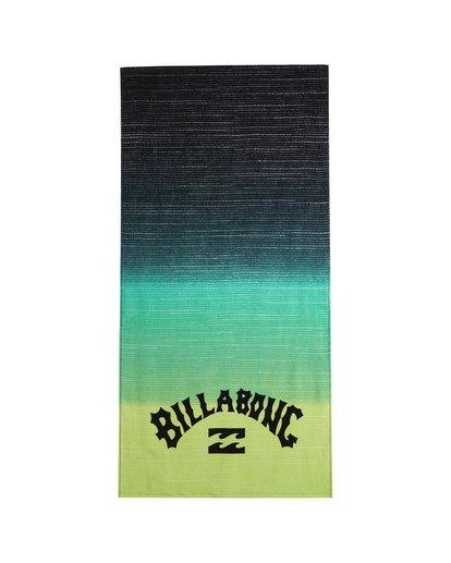 1 Waves - Serviette de plage imprimée pour Homme Jaune S5TO01BIP0 Billabong
