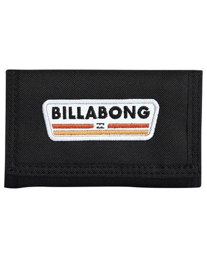 3 Walled 600D - Brieftasche für Herren Schwarz S5WL03BIP0 Billabong