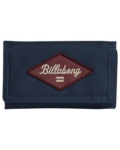 3 Walled 600D - Brieftasche für Herren Blau S5WL03BIP0 Billabong