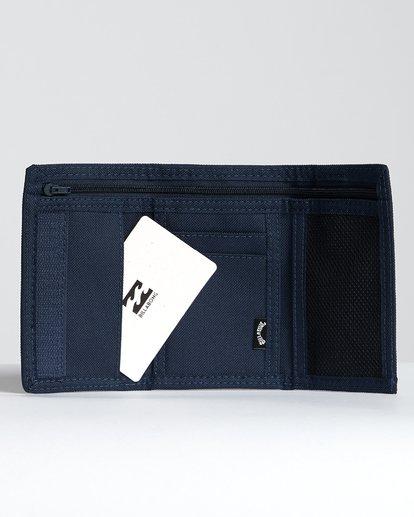 2 Walled 600D - Brieftasche für Herren Blau S5WL03BIP0 Billabong
