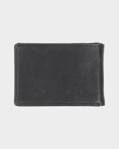 1 Revival Slim Line - Wallet for Men Black S5WM03BIP0 Billabong