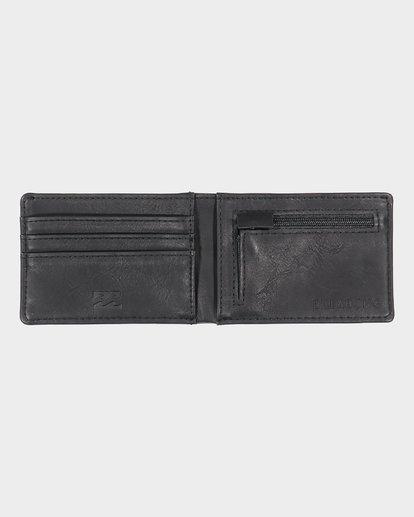 3 Revival Slim Line - Wallet for Men Black S5WM03BIP0 Billabong