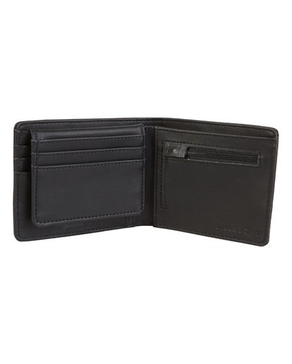 1 Dimension - Brieftasche aus Kunstleder für Herren Blau S5WM07BIP0 Billabong
