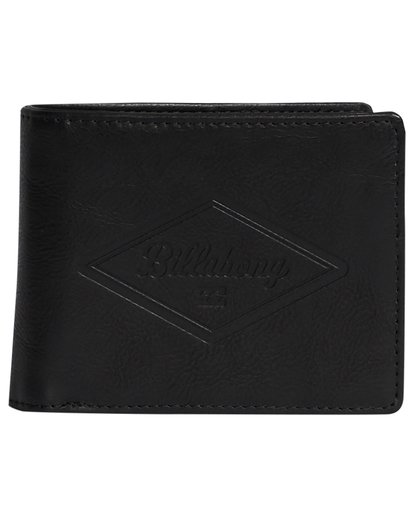 4 Walled Pu - Cartera para Hombre Negro S5WM08BIP0 Billabong