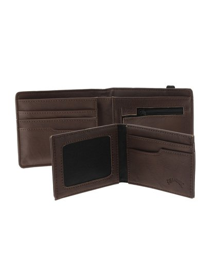 6 Locked Id - Cartera para Hombre Marron S5WM09BIP0 Billabong