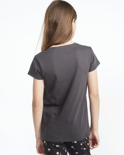 2 So Much Love - Camiseta con estampado gráfico para Chicas adolescentes Negro S8SS01BIP0 Billabong