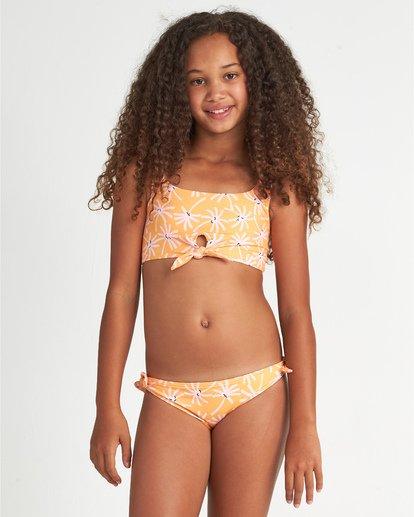 0 Letting Go - Conjunto de bikini floreado para Chicas adolescentes  S8SW01BIP0 Billabong