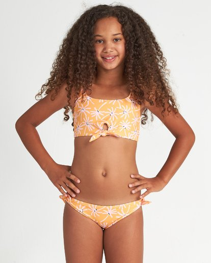 1 Letting Go - Conjunto de bikini floreado para Chicas adolescentes  S8SW01BIP0 Billabong