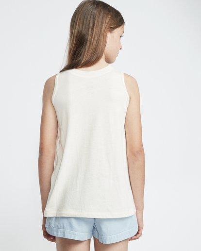 1 Love Stripe - T-Shirt for Teen Girls White S8TT03BIP0 Billabong