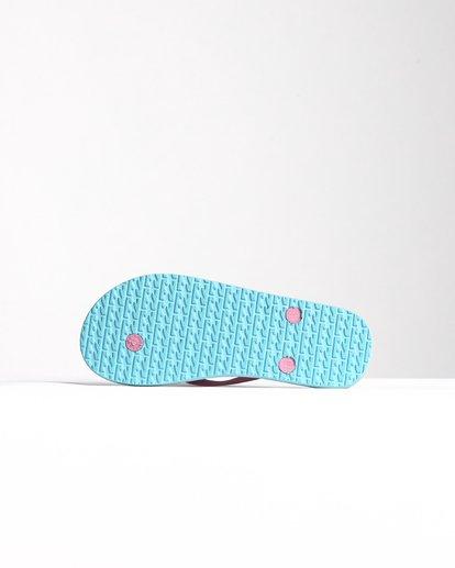 3 Dama - Flip-Flops für Damen Blau S9FF02BIP0 Billabong