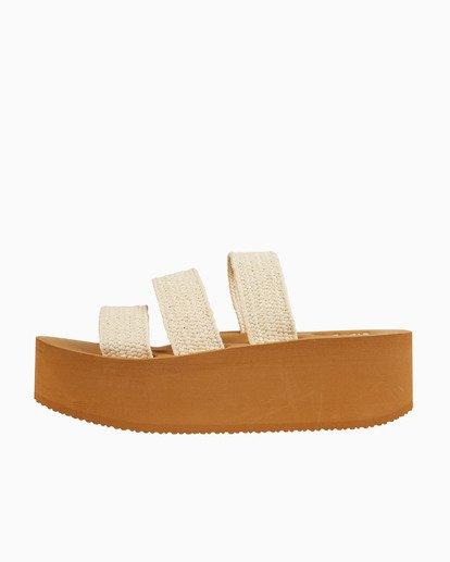 1 Seabound - Sandalias con gran suela de plataforma para Mujer Beige S9FF06BIP0 Billabong