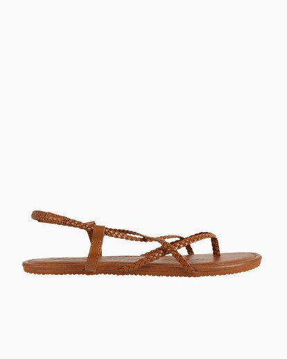 2 Crossing Over - Flip-Flops für Damen Beige S9FF07BIP0 Billabong
