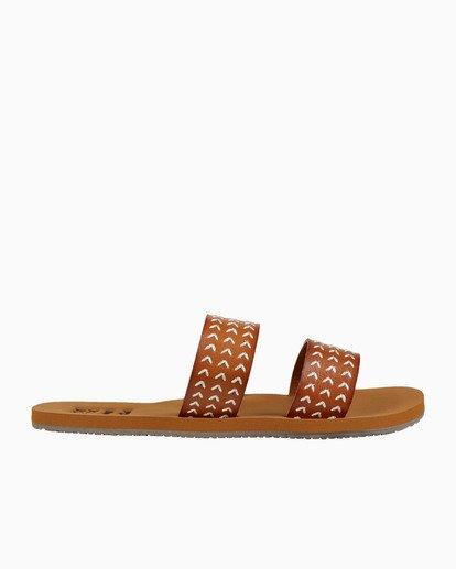1 Odyssey - Schlüpf-Sandalen für Damen Beige S9FF10BIP0 Billabong
