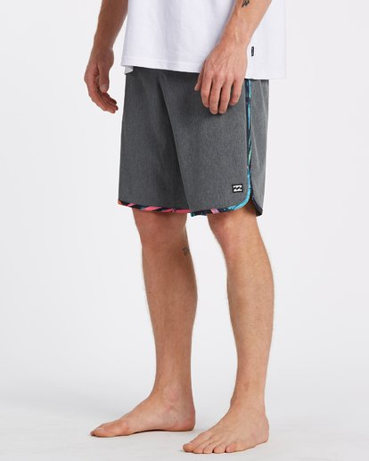 4 73 Pro - Board Shorts for Men Grey T1BS16BIS0 Billabong