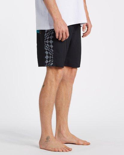 5 D Bah Pro - Boardshorts für Männer Grau T1BS18BIS0 Billabong