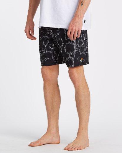 4 Lorax Sundays Low Tide - Board Shorts for Men Black T1BS28BIS0 Billabong