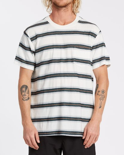 0 Hazer - T-Shirt für Männer Weiss T1JE11BIS0 Billabong